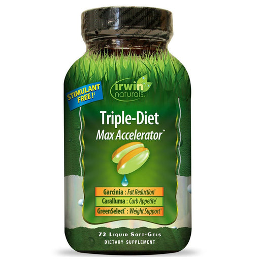 Irwin Naturals Sports Nutrition & More Irwin Naturals Triple-Diet 72 Liquid Soft Gels (581990023212)