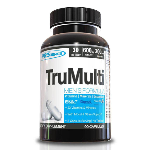 PEScience Vitamins, Minerals, Herbs & More PEScience TruMulti Men's Formula 90 Caps (582560809004)