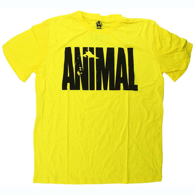 Universal Sports Nutrition & More Universal Animal Iconic Tee Yellow Medium (580993122348)