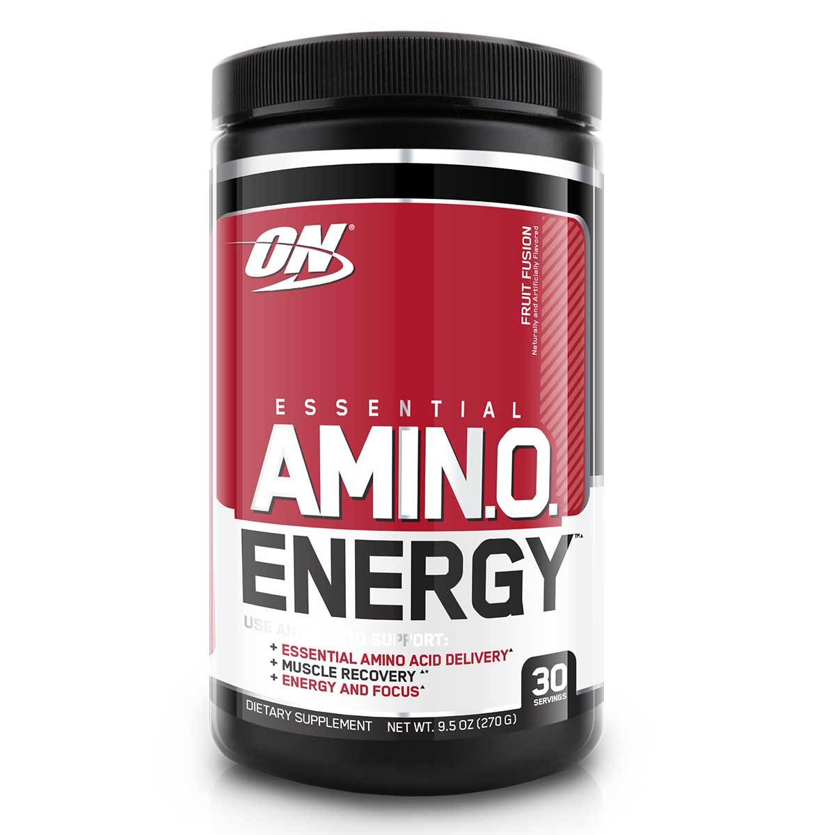Optimum Nutrition | Amino Energy Pre-Workout Drink with BCAAs