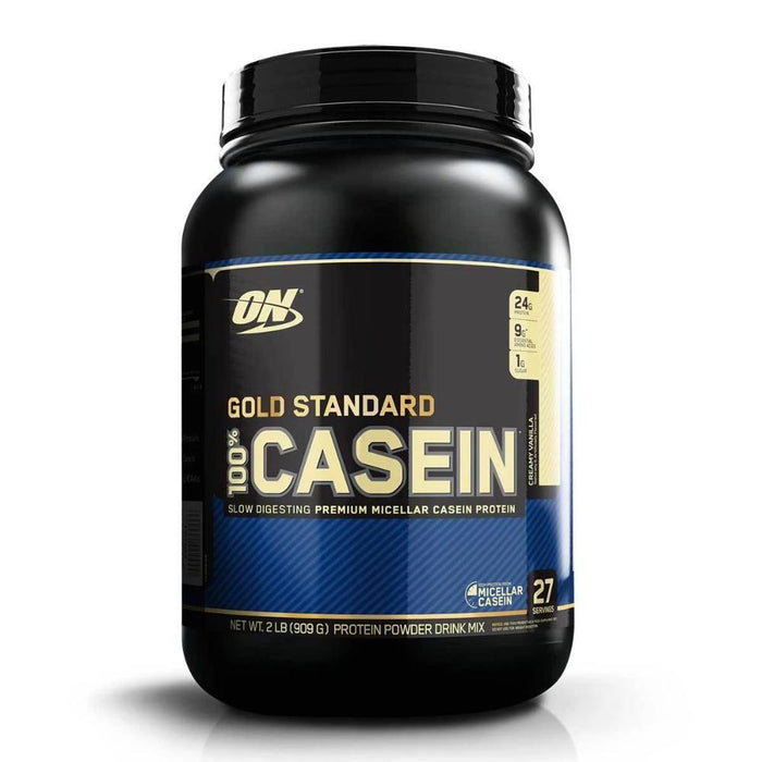 Optimum Nutrition Sports Nutrition & More Creamy Vanilla Optimum Nutrition 100% Casein 2 Lbs (580744839212)