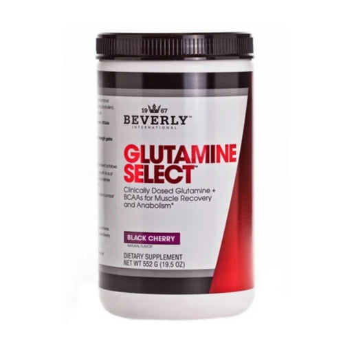 Beverly International Amino Acids Black Cherry Beverly International Glutamine Select 552 Grams (4568679776371)