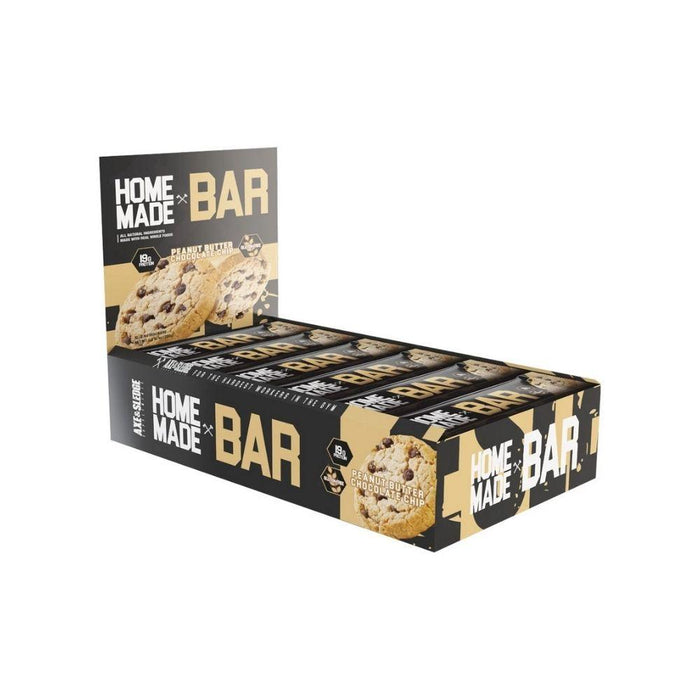 AXE & SLEDGE Bars Peanut Butter Chocolate Chip Axe and Sledge Home Made Bar 12/Box