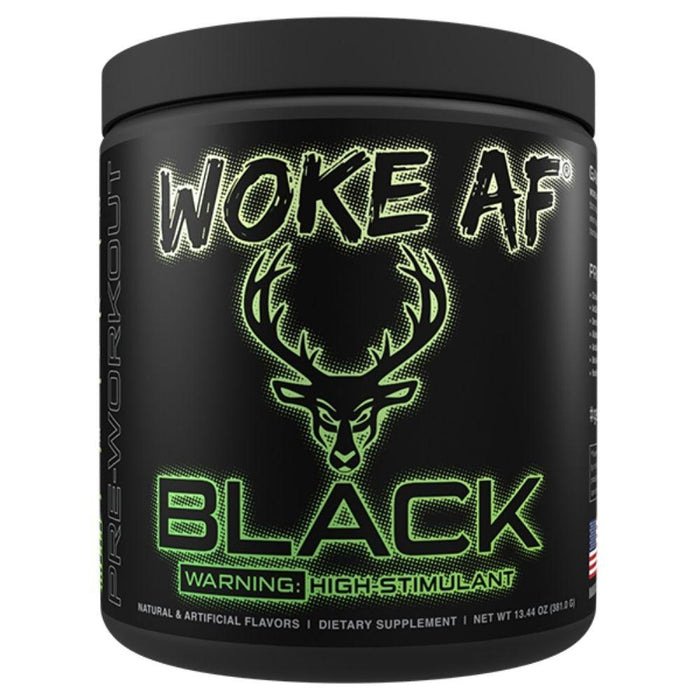 Bucked Up Sports Performance Recovery Lime-ade Bucked Up Woke AF BLACK 30 Servings