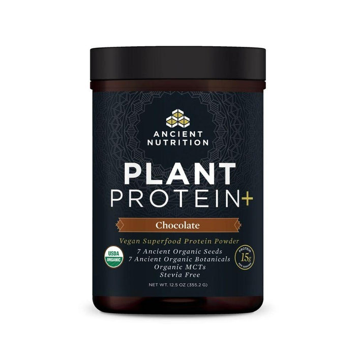 Ancient Nutrition Protein Powders Chocolate Ancient Nutrition Plant Protein+