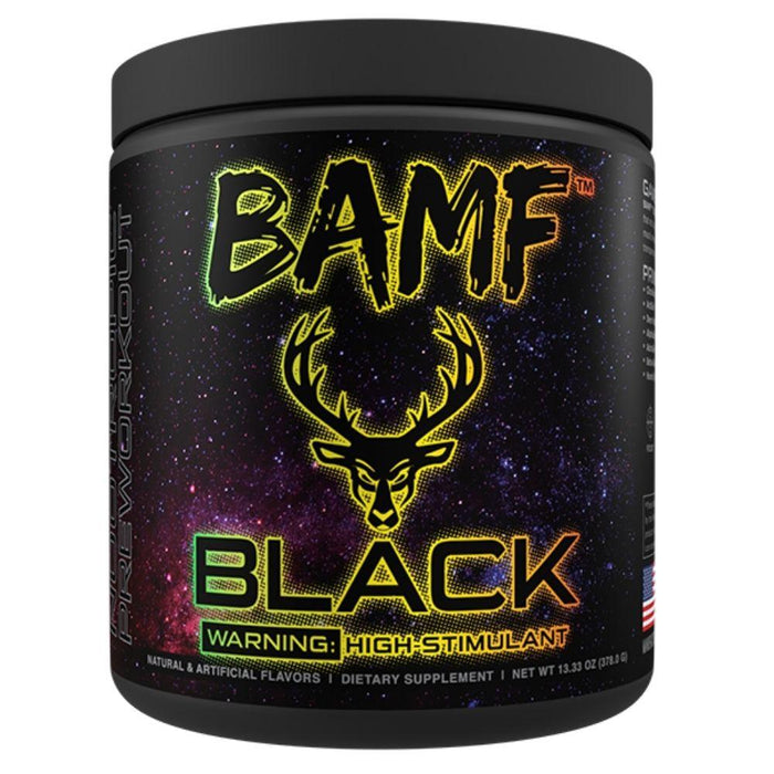 Bucked Up Pre-Workouts Candy Shop Bucked Up BAMF Black Nootropic Pre-Workout 30 Servings (4571179483251)