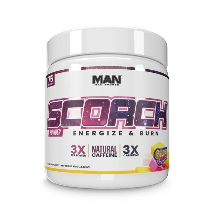 MAN Fat Burner Galaxy Candy MAN Scorch 75 Servings (4544994639987)