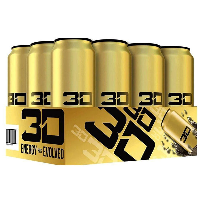 UP ENERGY Drinks GOLD 3D Energy Drink 12/Case (1497226051628)