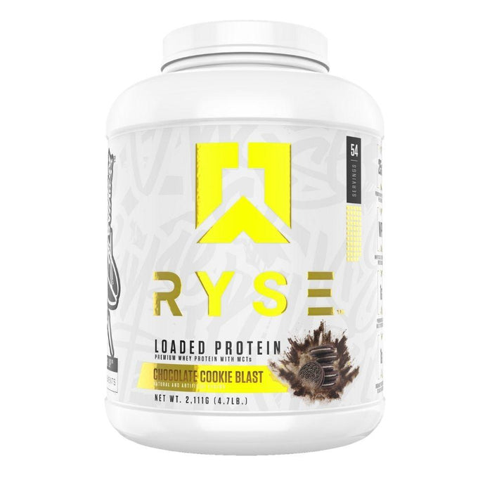 Ryse Supplements Protein Powders Chocolate Cookie Ryse Loaded Protein 4lb (4551762182259)
