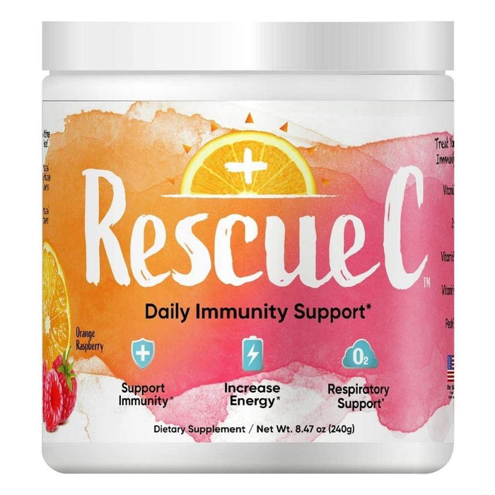 RescueC Vitamins & Minerals Orange Raspberry Rescue C 240 Grams (4617946005619)