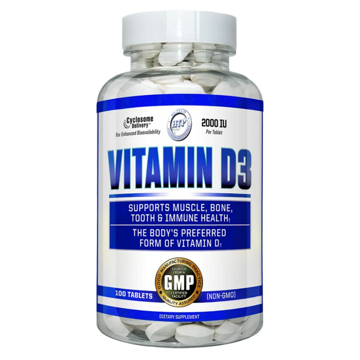 Hi-Tech Pharmaceuticals Vitamins & Minerals Hi-Tech Pharmaceuticals Vitamin D3 100ct (4288263553068)
