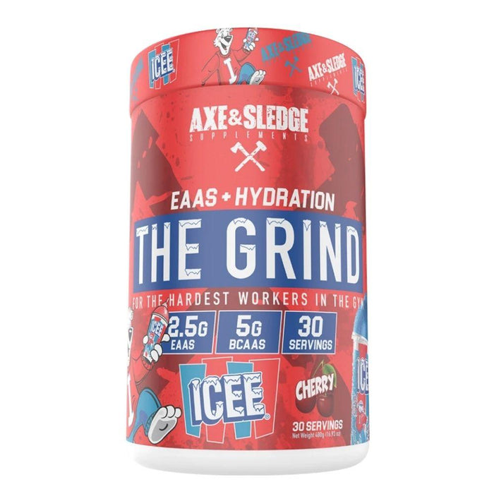 AXE & SLEDGE Amino Acids ICEE CHERRY Axe & Sledge The Grind 30 Servings