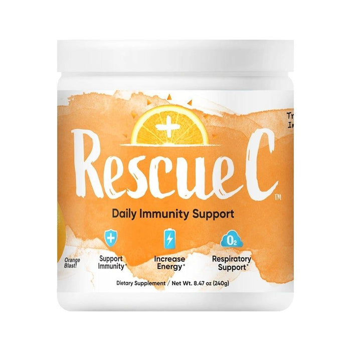 RescueC Vitamins & Minerals Orange Blast Rescue C 240 Grams (4617946005619)