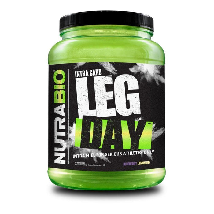 NutraBio Sports Performance Recovery Blueberry Lemonade NutraBio Leg Day 20/sv
