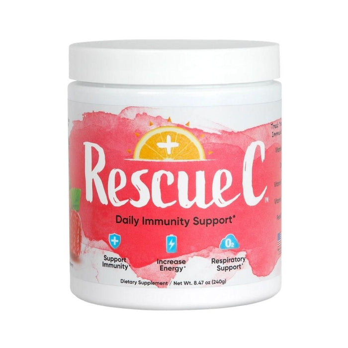 RescueC Vitamins & Minerals Raspberry Rescue C 240 Grams (4617946005619)