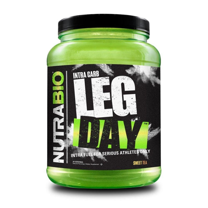 NutraBio Sports Performance Recovery Sweet Tea NutraBio Leg Day 20/sv