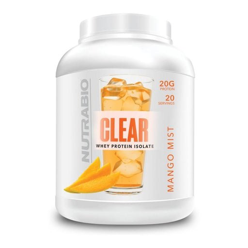 NutraBio Protein Powders Mango Mist NutraBio Clear Isolate 20 Servings (4611145171059)