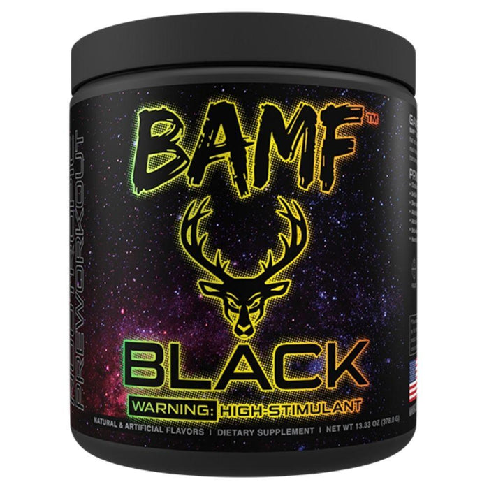 Bucked Up Pre-Workouts Lime After Lime Bucked Up BAMF Black Nootropic Pre-Workout 30 Servings