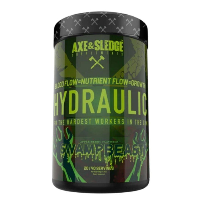 AXE & SLEDGE Sports Performance Recovery SWAMP BEAST Axe & Sledge Hydraulic 40 Servings (3828781645868)