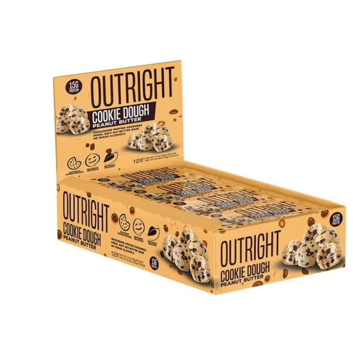 MTS Nutrition Bars Cookie Dough Peanut Butter MTS OUTRIGHT BAR 12/BOX (3899430764588)