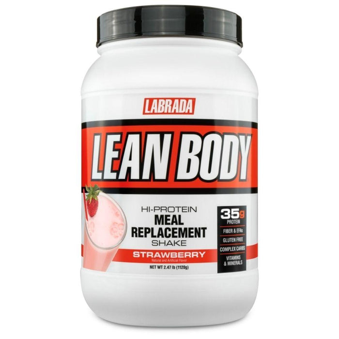 Labrada Nutrition Protein Powders Strawberry Labrada Lean Body 2.47lb (4593221763187)