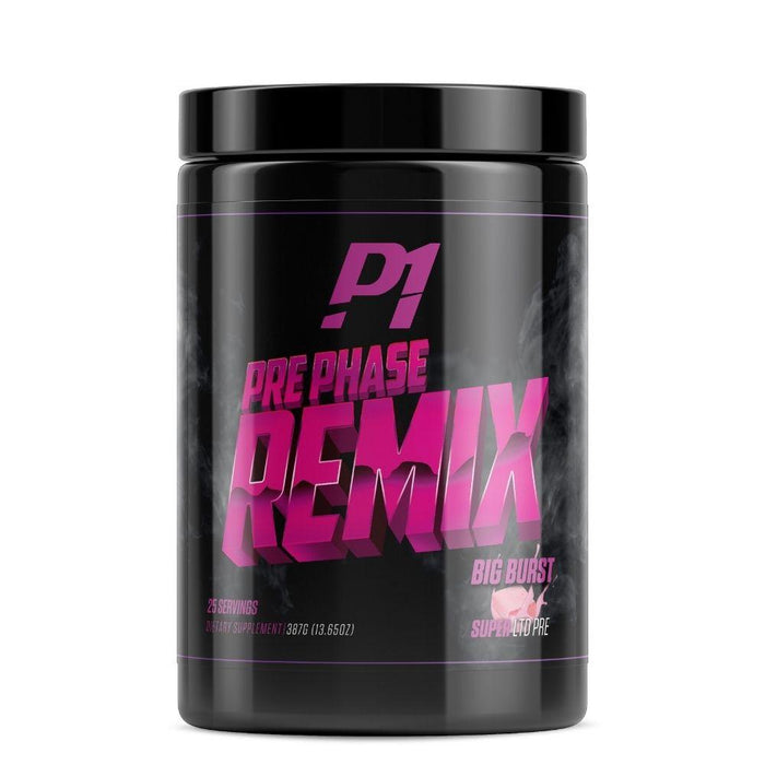 Phase One Nutrition Pre-Workouts Big Burst Phase One Pre Phase Remix 25 Servings (4537055969395)