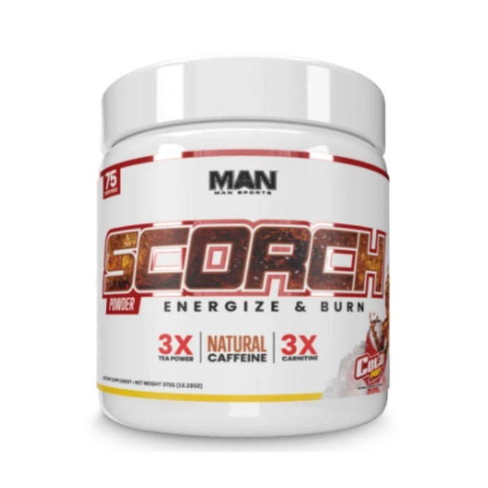 MAN Fat Burner Cola MAN Scorch 75 Servings (4544994639987)