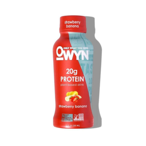 Only What You Need Drinks Strawberry Banana Only What You Need OWYN Protein Shake RTD 12/Case