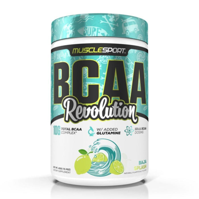Muscle Sport Amino Acids Baja Splash Muscle Sport BCAA Revolution 30 Servings (4392916615283)