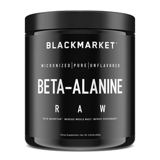 Black Market Labs Amino Acids Black Market Labs Beta-Alanine 192g (4367027437683)