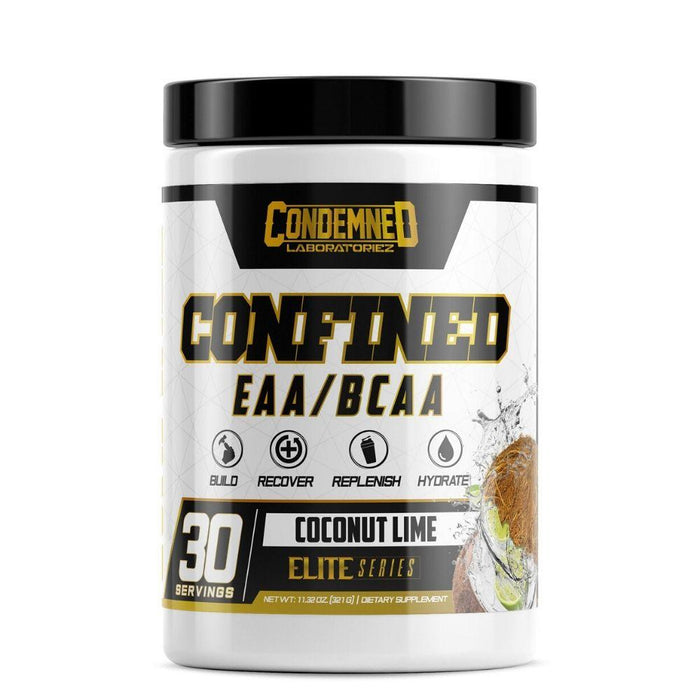 Condemned Labratoriez Amino Acids Coconut Lime Condemned Confined EAA/BCAA 30 Servings (4535914692723)