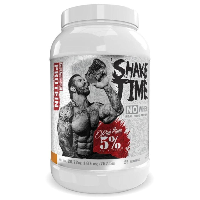 5% Nutrition Protein Powders Vanilla Cinnamon 5% Nutrition Shake Time 25 Servings