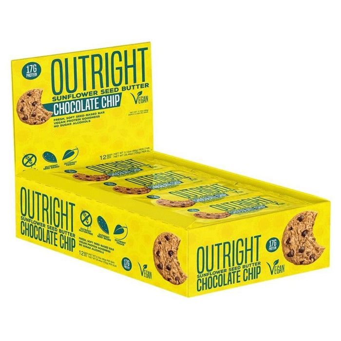 MTS Nutrition Bars Sunflower Chocolate Chip MTS Nutrition Outright Bar 12/Box (3899430764588)