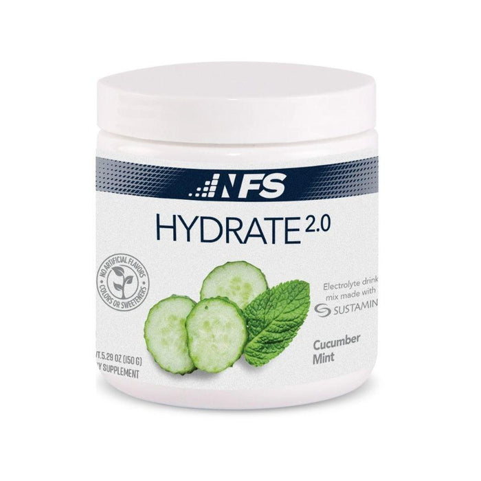 NF Sports Sports Performance Recovery Cucumber Mint NF Sports Hydrate 2.0 Electrolyte Drink 30 Servings (4594502959219)