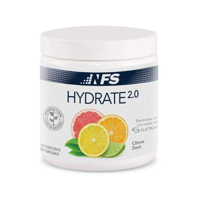 NF Sports Sports Performance Recovery Citrus Zest NF Sports Hydrate 2.0 Electrolyte Drink 30 Servings (4594502959219)