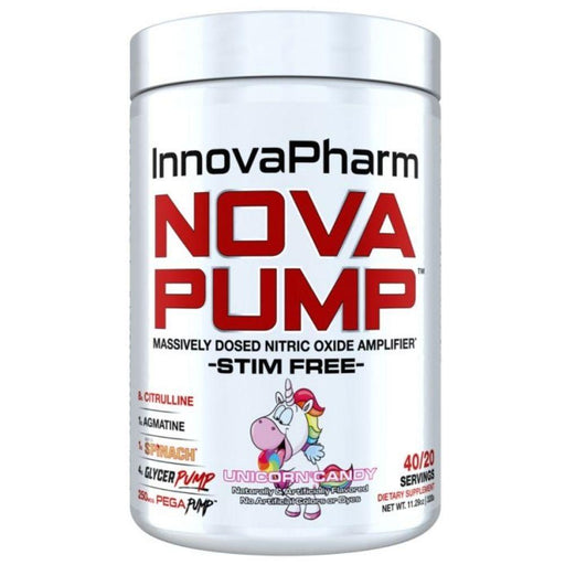 InnovaPharm Nitric Oxide Unicorn Candy InnovaPharm Nova Pump 40 Servings