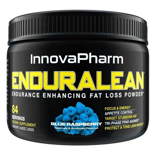 InnovaPharm Fat Burner Blue Raspberry InnovaPharm Enduralean 84 Servings