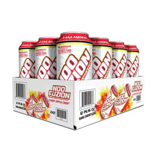 VPX Drinks Candy Apple VPX Noo Fuzion Energy Drink 12/case (4555398611059)