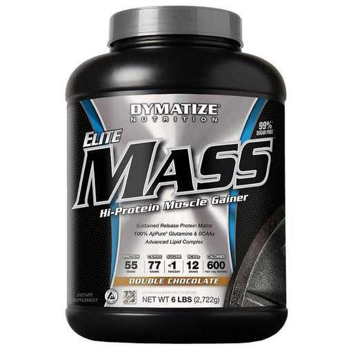 Dymatize Weight Gain Double Chocolate Dymatize Elite Mass Gainer 3.3 Lbs (1519819587628)