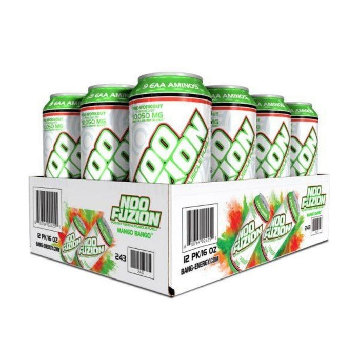 VPX Drinks Mango Bango VPX Noo Fuzion Energy Drink 12/case (4555398611059)