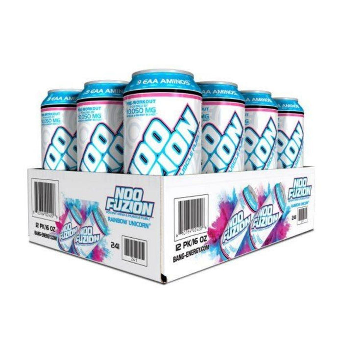 VPX Drinks Rainbow Unicorn VPX Noo Fuzion Energy Drink 12/case (4555398611059)