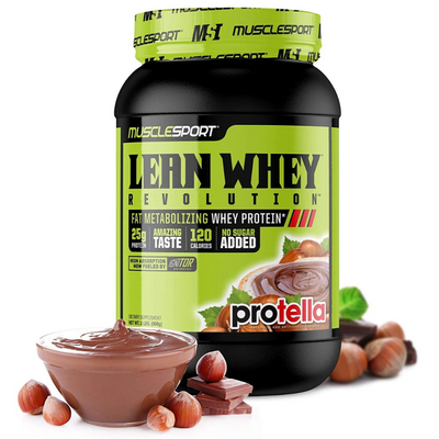 Muscle Sport Protein Powders Protella Muscle Sport Lean Whey Revolution 2lb (4394701160563)