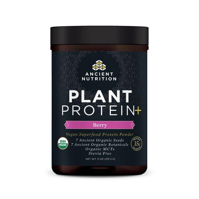 Ancient Nutrition Protein Powders Berry Ancient Nutrition Plant Protein+