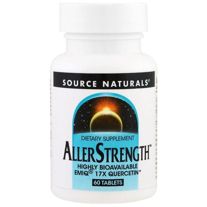 Source Naturals Specialty Health Products Source Naturals AllerStrength 60 Tablets (4452051714163)