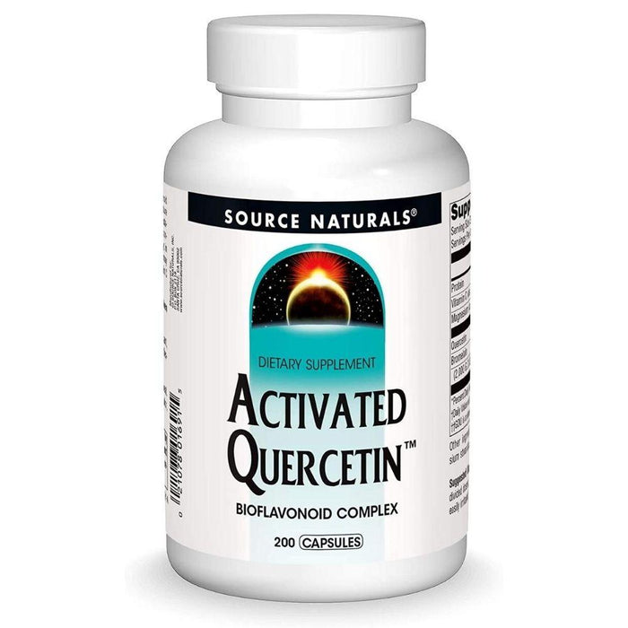 Source Naturals Specialty Health Products Default Source Naturals Activated Quercetin 200 Capsules (3820716851244)