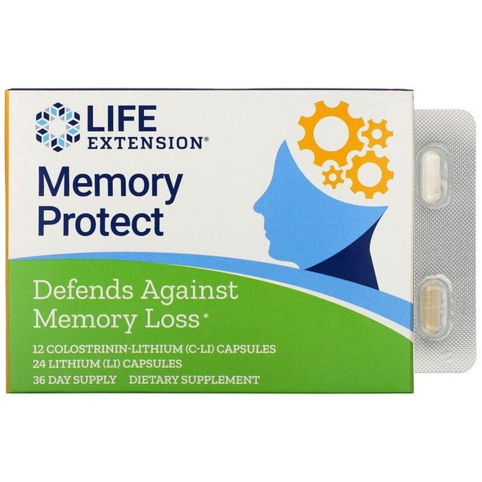 Life Extension Specialty Health Products Life Extension Memory Protect 36 Day (4561209589875)