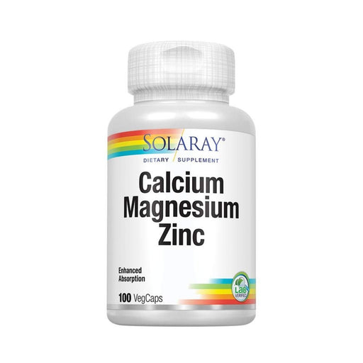Solaray Multi Vitamins Solaray Calcium Magnesium Zinc 100 Capsules (4540980199539)