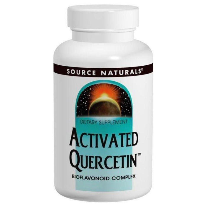 Source Naturals Specialty Health Products Default Source Naturals Activated Quercetin 50 Tablets (3820706299948)