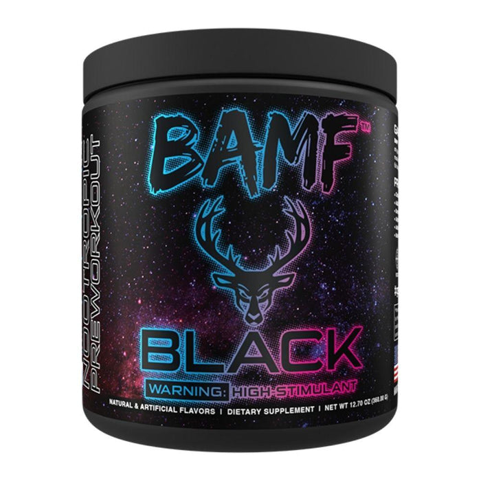 Bucked Up Pre-Workouts Welcome To Miami Bucked Up BAMF Black Nootropic Pre-Workout 30 Servings (4571179483251)