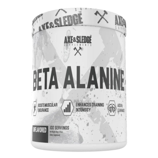 AXE & SLEDGE Amino Acids Axe & Sledge Beta Alanine 100 Servings (4609398308979)